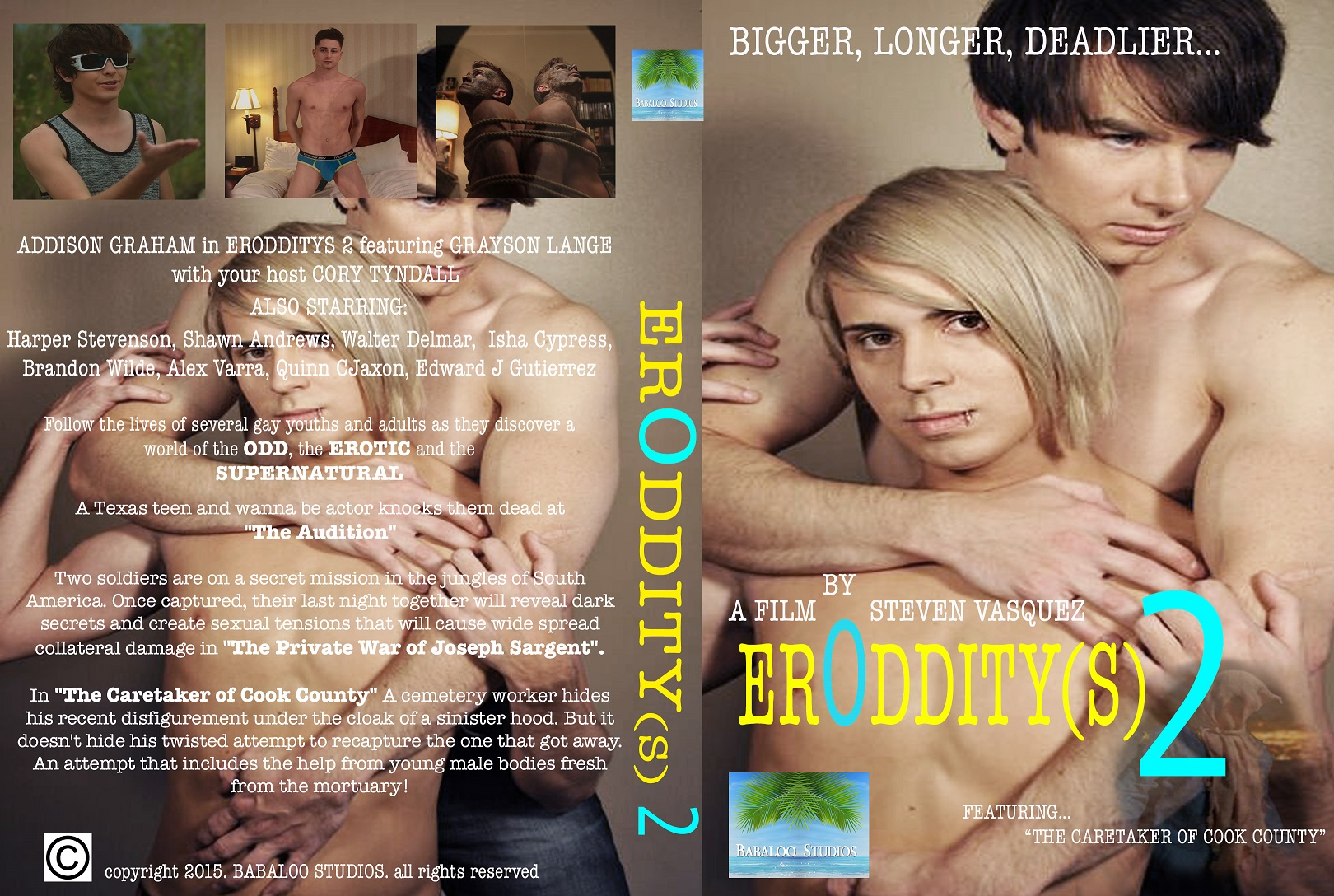 ErOdditys 2 DVD Final Wrap small